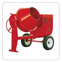 Multiquip Mixers  – Concrete and Mortar    Multiquip MC64SH8 Concrete Mixer