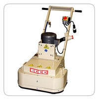 "Concrete Prep Equipment EDCO Double Disk Grinder - Dyma-serts, strip-serts, stones EDCO 7"" Grinder EDCO Gas 8"" Scarifier"