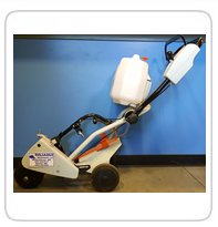 Stihl Cart with Water Bottle
