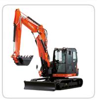 Excavators (15,000lb-30,000lb)     KX-080 - 18,000lb