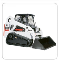 Skid Steers (8,000lb+)  (Exhaust Scrubbers available) Bobcat T190 CAT 262D Kubota SSV75