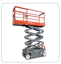 Electric Scissor Lifts     JLG 12SP (Pushed Single Man Lift)      JLG 1230ES       Skyjack 19' Electric      Skyjack 26' Electric      Skyjack 32' Electric      Skyjack 40' Electric