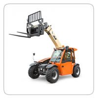 5K Rough Terrain Forklifts     JCB 505-20      JLG G5 18A      CAT TH255      Genie GTH-5519
