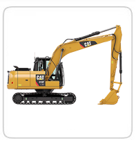 Excavators (30,000lb+)     PC138 LC- 32,000lb      CAT313F LGC- 30,300lb