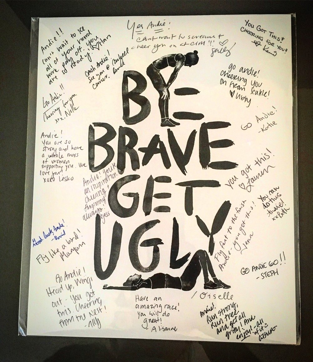 Be Brave Get Ugly
