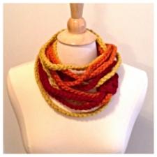 Midwest Crochet Sunburst Rope Scarf