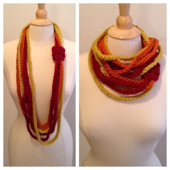 Midwest Crochet Rope Scarf Pattern