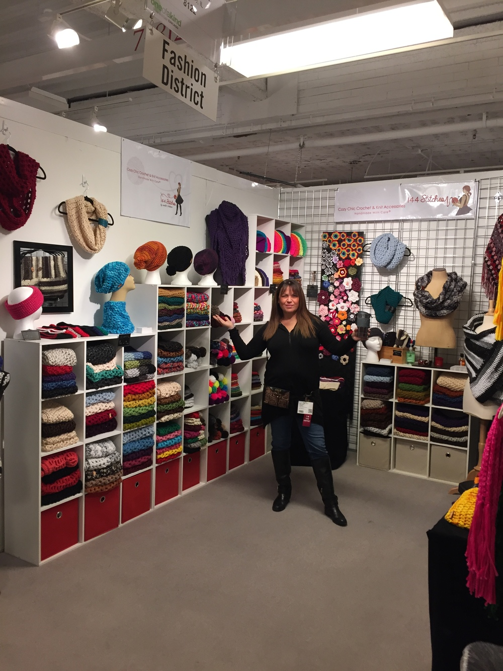 144 Stitches 2015 Booth at OOAK Show