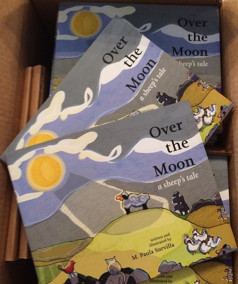 Over The Moon Children's Book