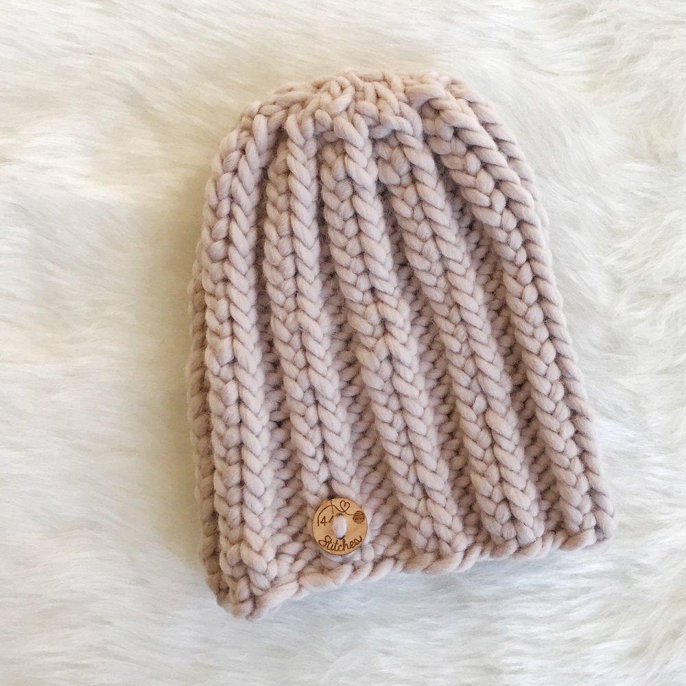 Hampton Classic Ribbed Beanie - Free Knitting Pattern — Stitch & Hustle