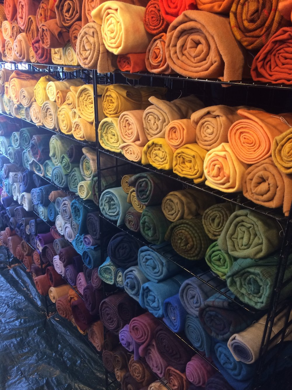 Rug hooking palette