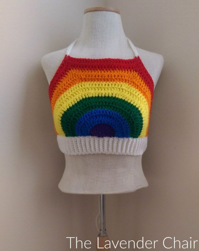 Its A Rainbow Crochet Pattern Round Up Stitch Hustle