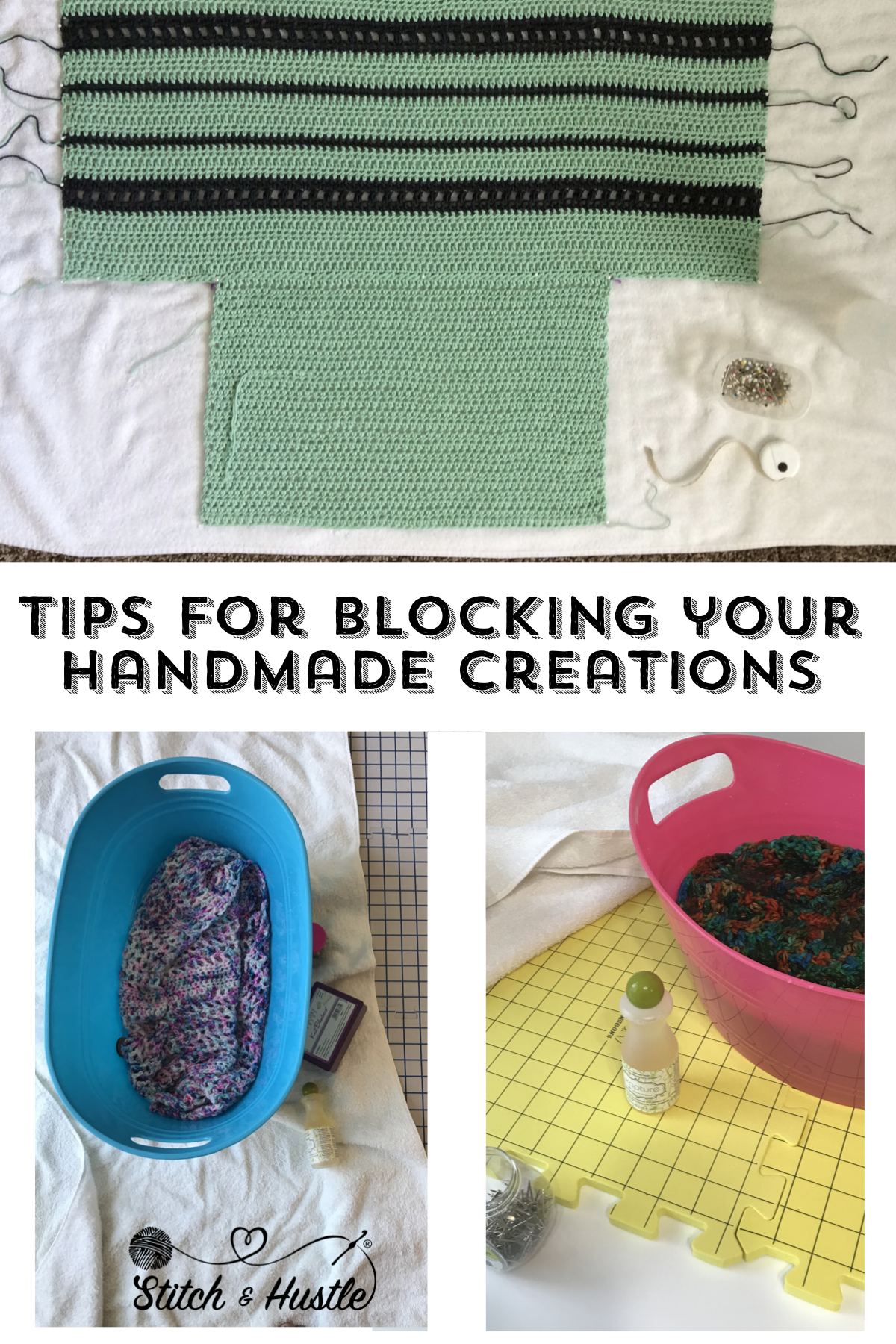 Stop  Block  And Roll  Tips for Blocking Your Knits — Stitch