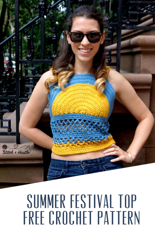 91f2a7e6bc Sanibel Cover Up - Pool Dress Free Crochet Pattern — Stitch & Hustle