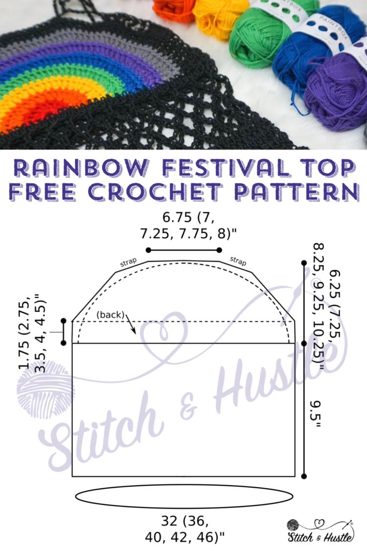 Islamorada Festival Top Free Crochet Pattern — Stitch & Hustle