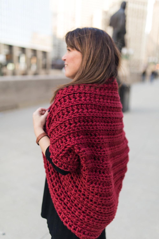 9135a06ba Juno Cocoon Shrug Crochet Pattern — Stitch   Hustle