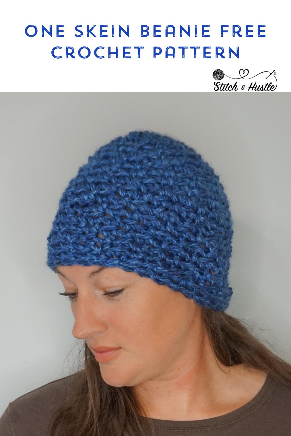 Park City Beanie Free Crochet Pattern Stitch Hustle