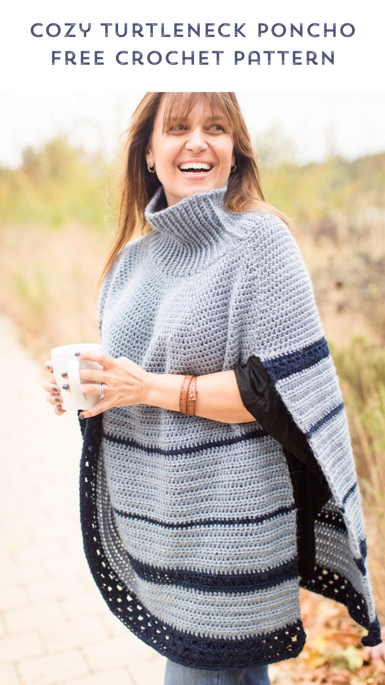 The Montana Poncho Crochet Pattern Stitch Hustle