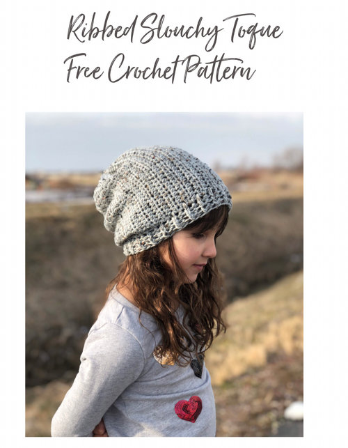 1e867132659 The Tweed Toque Free Crochet Pattern