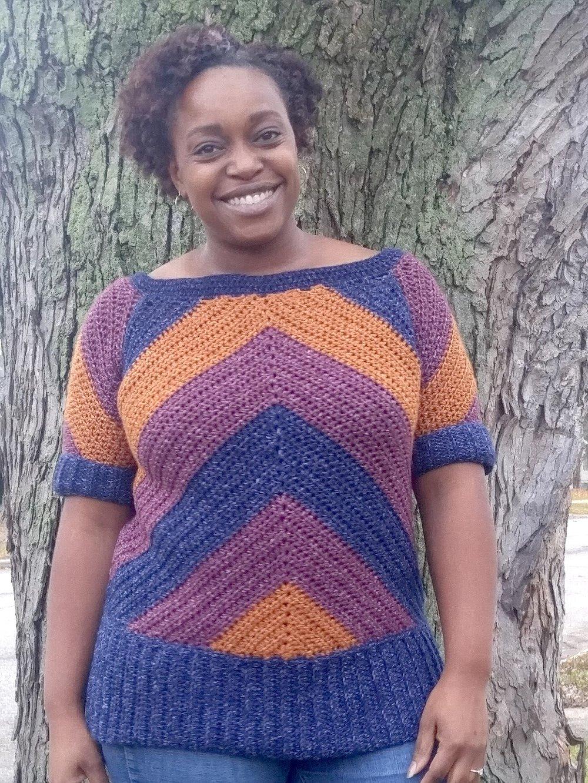 My Favorite Jeans Top Crochet Pattern Stitch Hustle