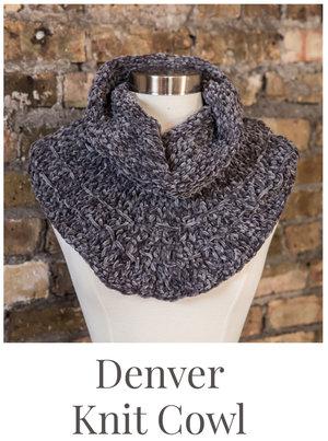Denver Cozy Knit Cowl Free Pattern — Stitch & Hustle