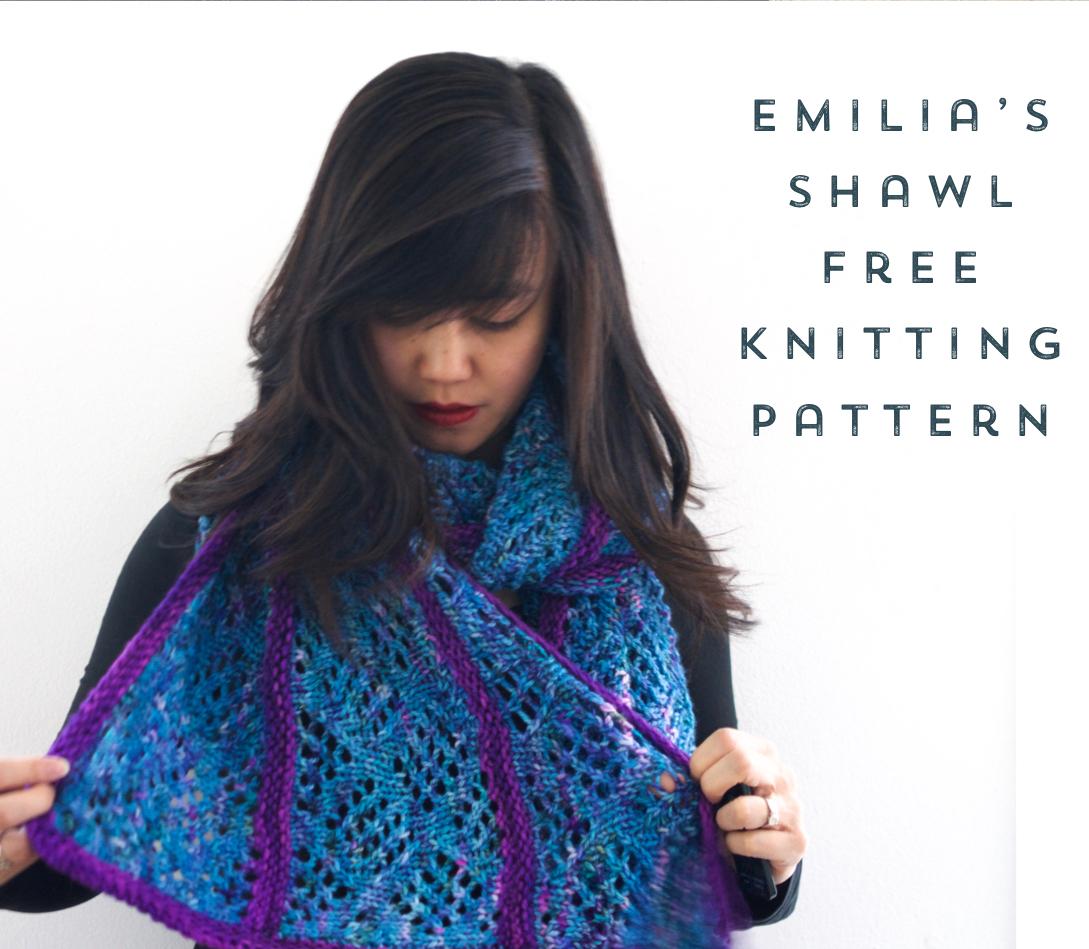 Oliphant Kat Nursing Shawl Free Knitting Pattern Stitch Hustle
