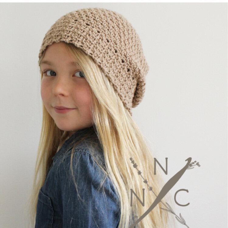 Oats & Honey Crochet Hat Free Pattern — Stitch & Hustle