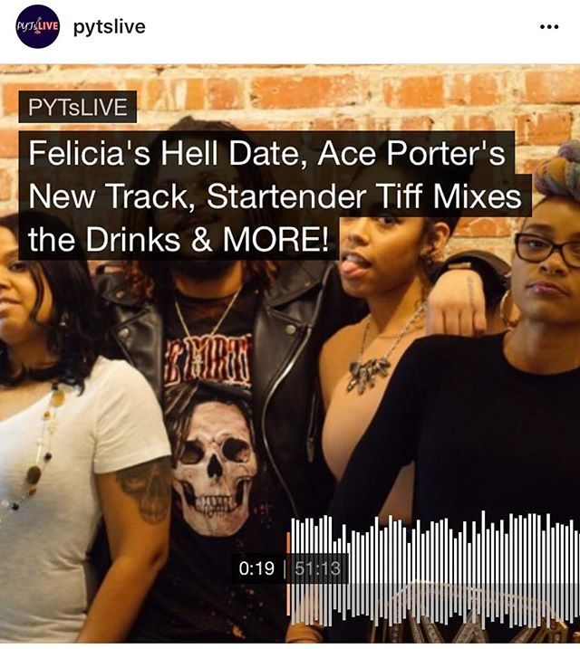 I had a great time! Check out my interview + music from my album #MrPorter on @pytslive @_feliciamichelle @iamkingsasha link in their bio!