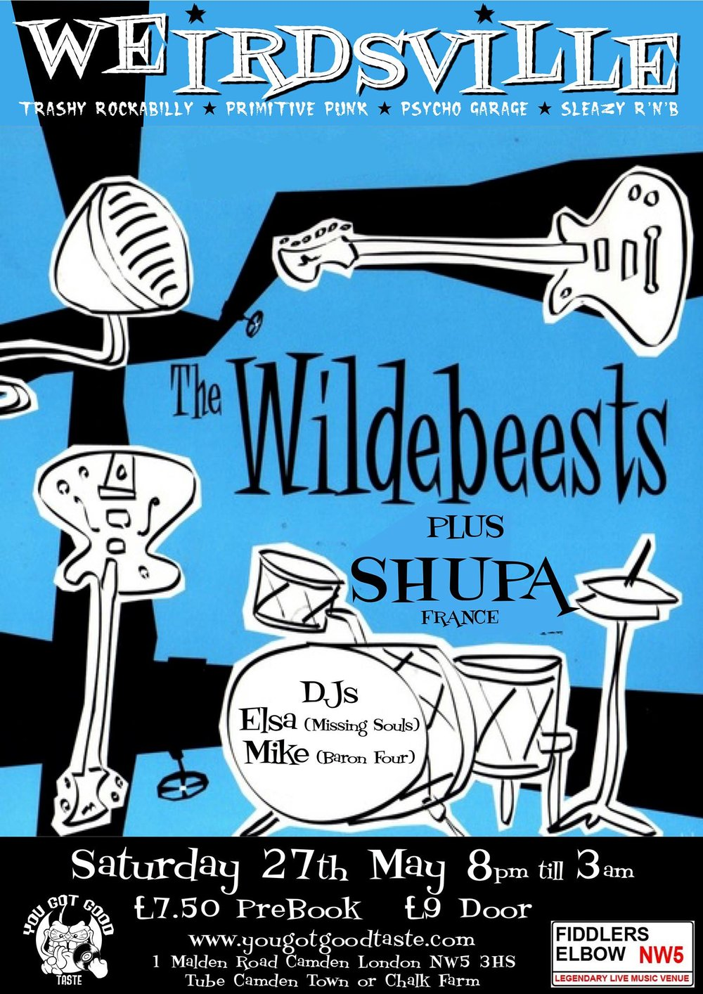 Image result for The Wildebeests band