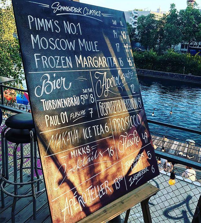 Wir sind auch am Sonntag bis nach Sonnenuntergang für dich da! #zürich #sonnendeck #weekend #sundaymood #sunday @visitzurich @primitivo_obererletten @sonnendeck_zurich