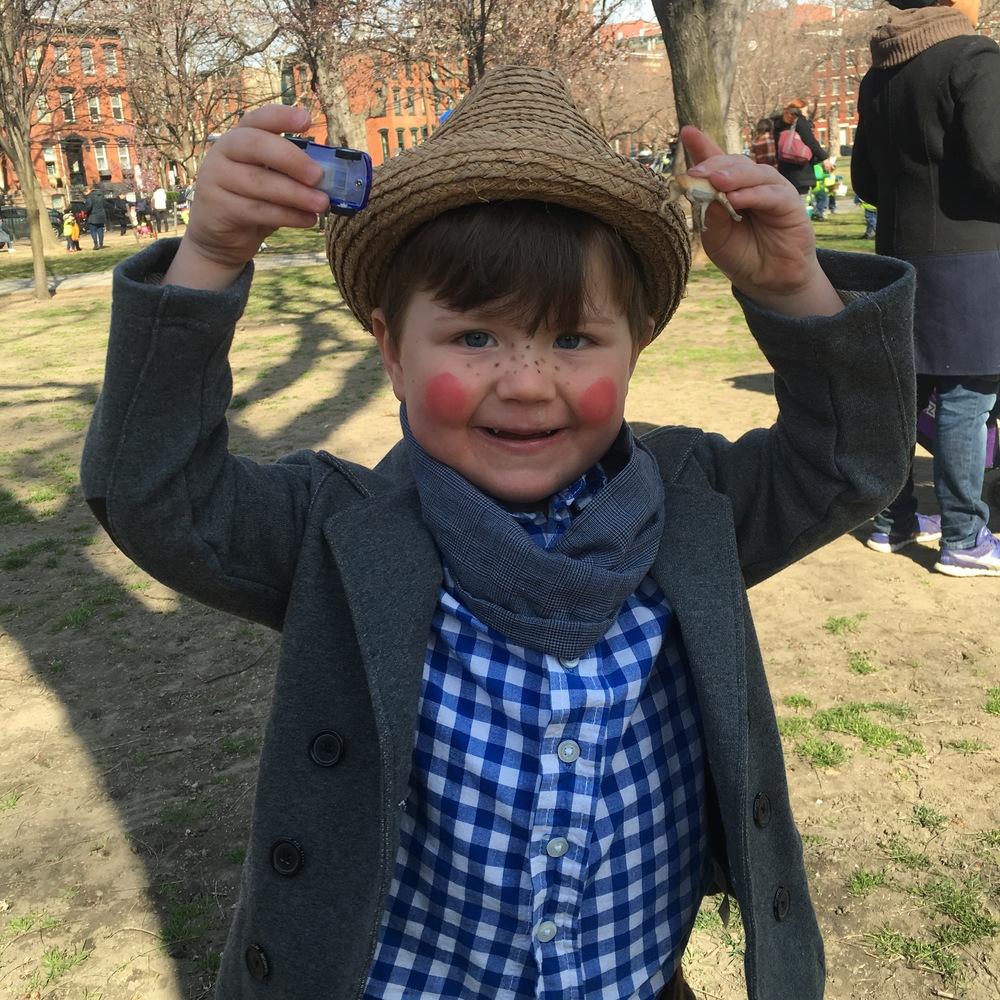Annual Scandinavian Easter Egg Hunt in Hamilton Park