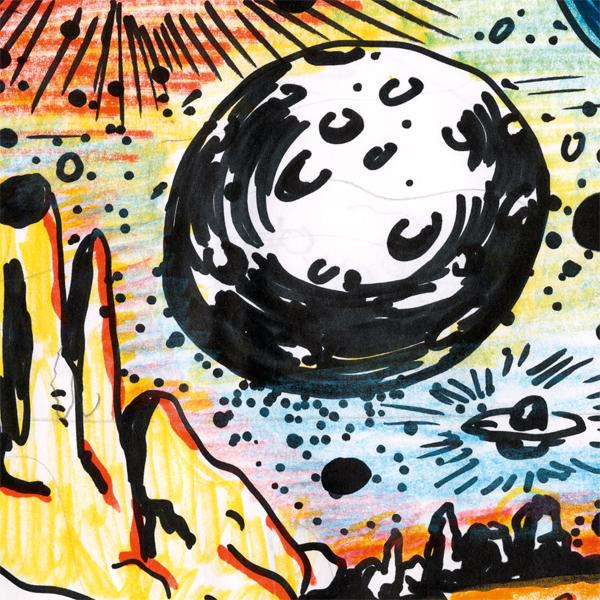 Snook Later, excerpt from 'Pink Damn Blue' Artwork by Armen Eloyan