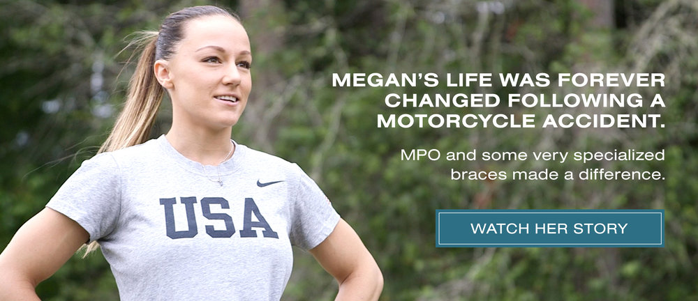 Patient Stories - Megan's life was forever changed following a motorcycle accident.