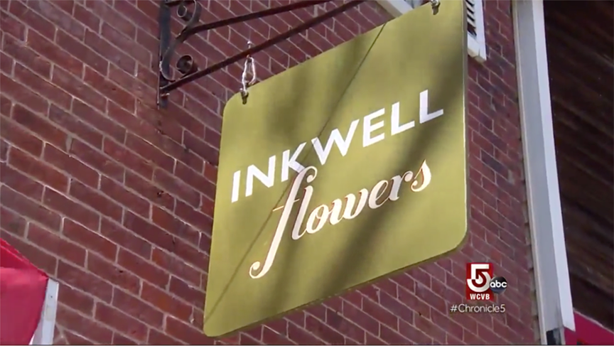 Inkwell Flowers featured on Boston Chronicle