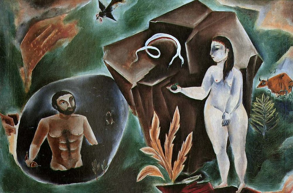 Adam & Eve, 1922