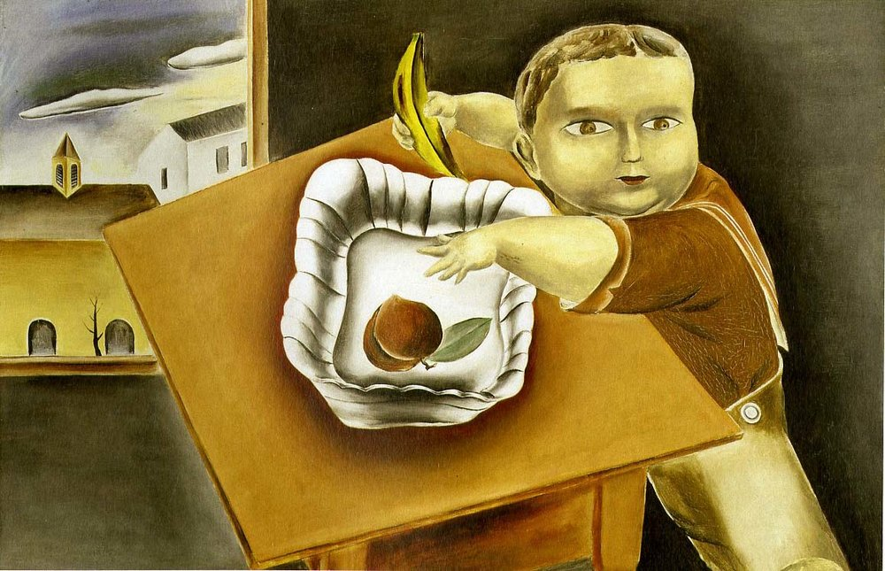 Boy Stealing Fruit, 1923