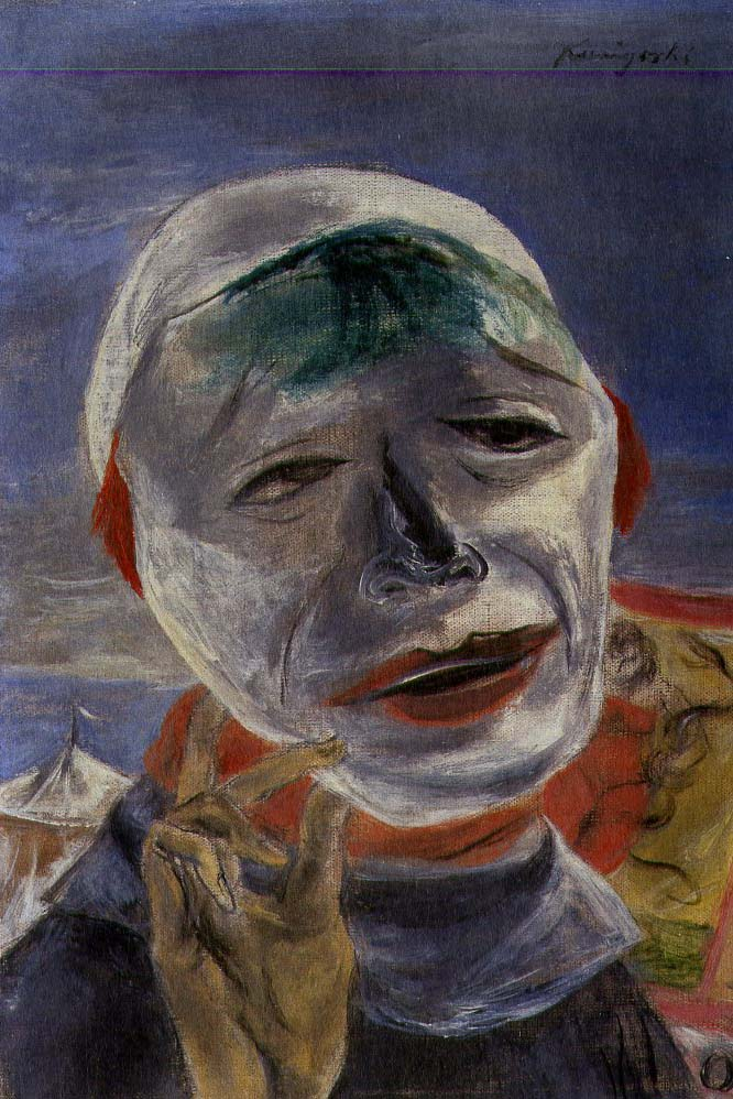 I Wear a Mask Today, 1946