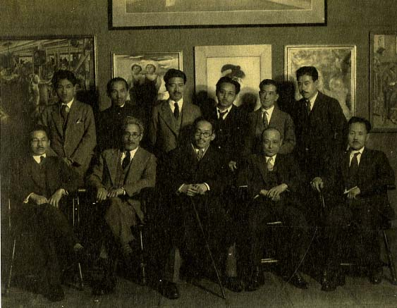 Japanese Artists Society, 1927