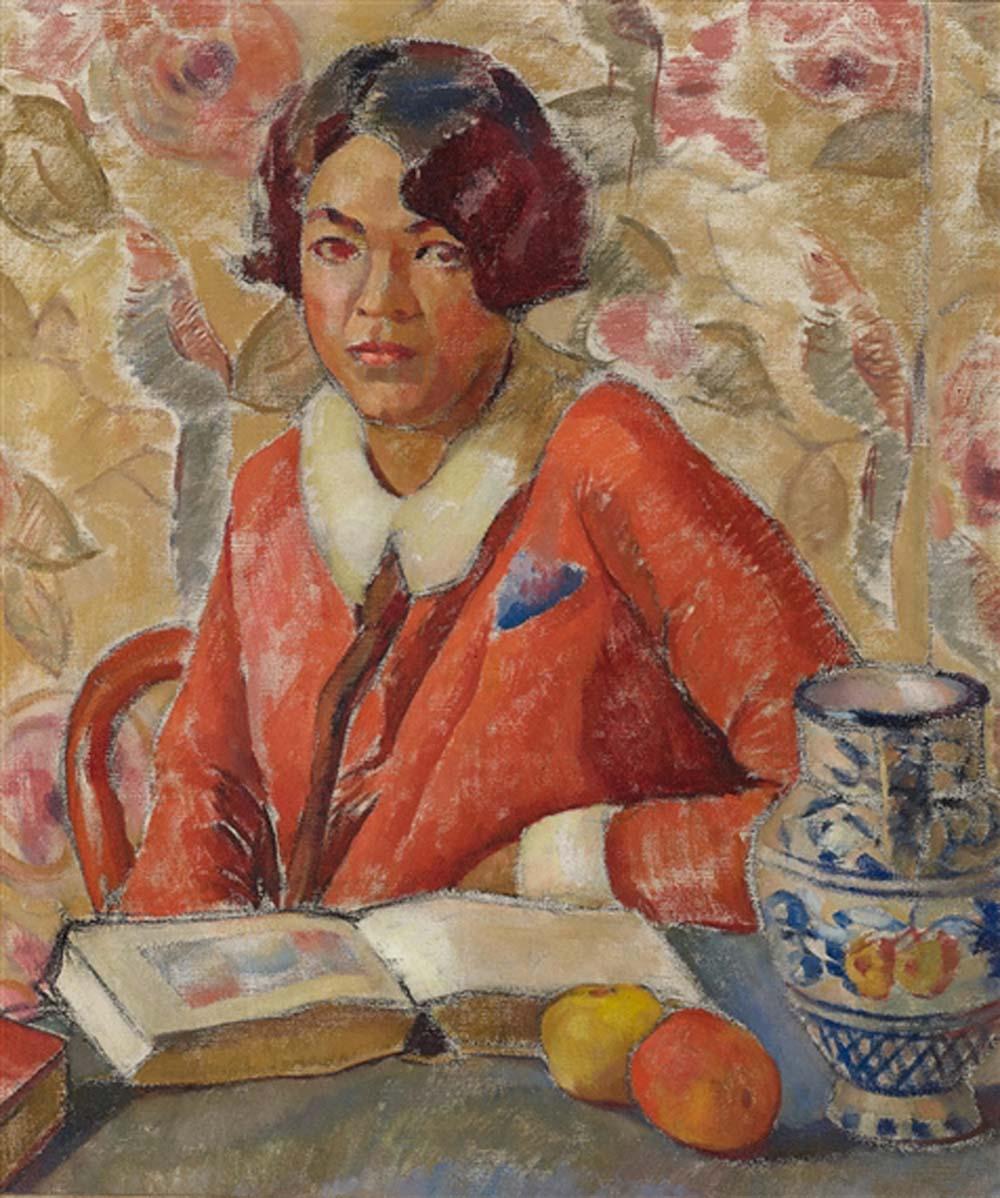 Self Portrait - Homage a Cezanne, 1924