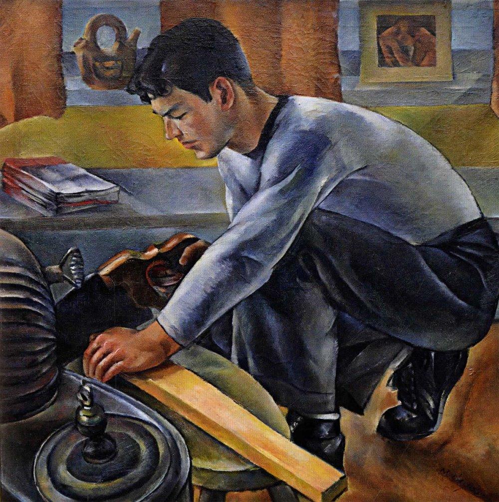 Worker,  1936