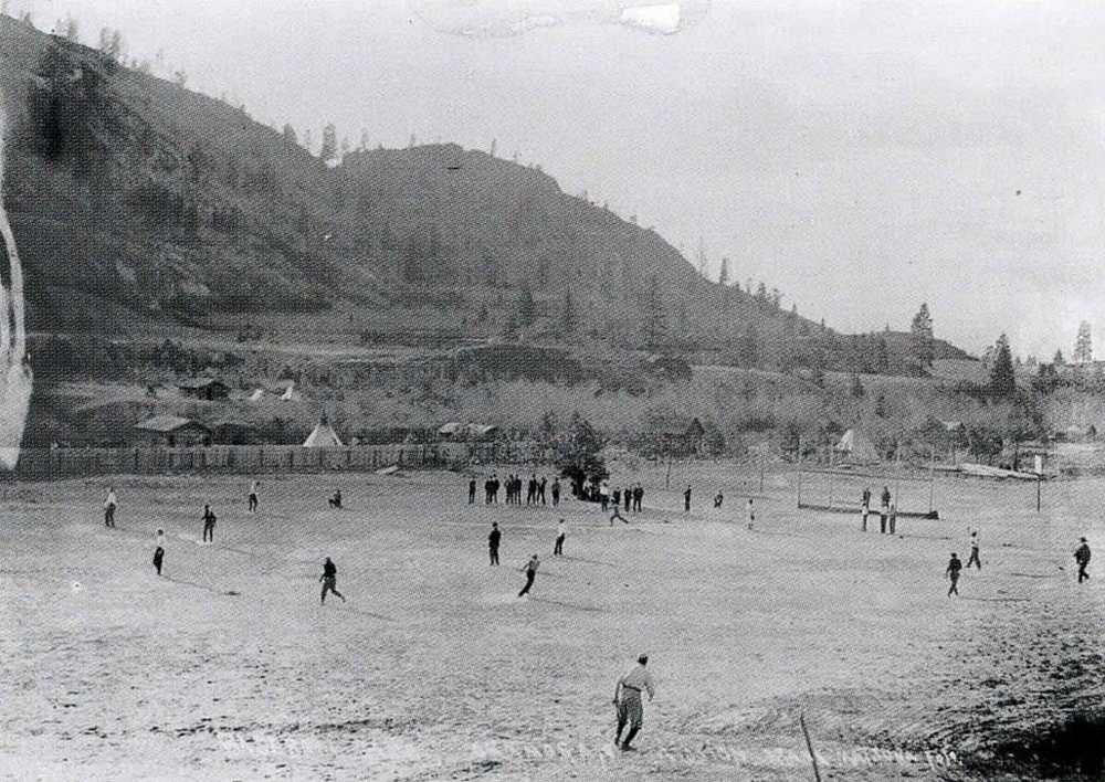 Okanogan Team vs. Mission Team (Baseball)  1910