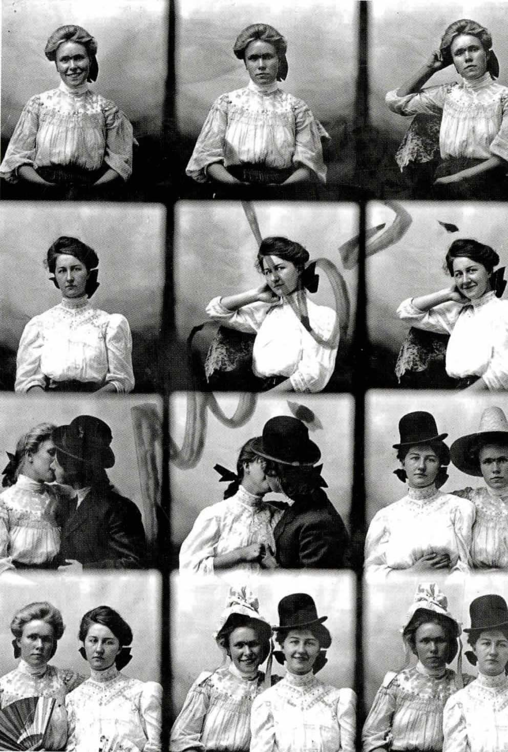 Dollie Graves & Pearl Rasilbarth,  1911
