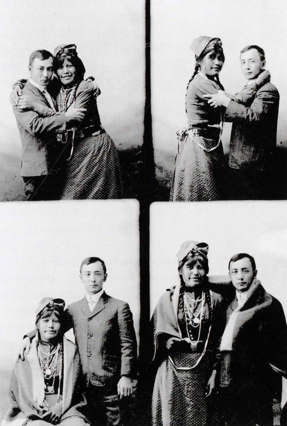 Matsura & Miss Cecil Chiliwhist,  1910