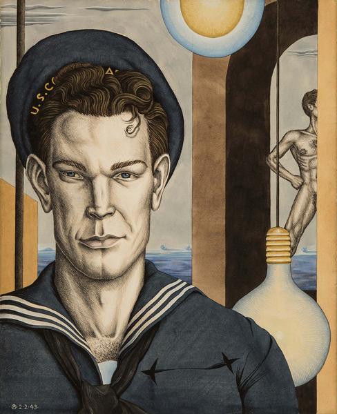 T.R. Russell, Em 2nd Class , 1943