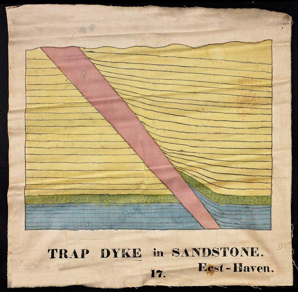 Trapdyke in Sandstone,  1828-40