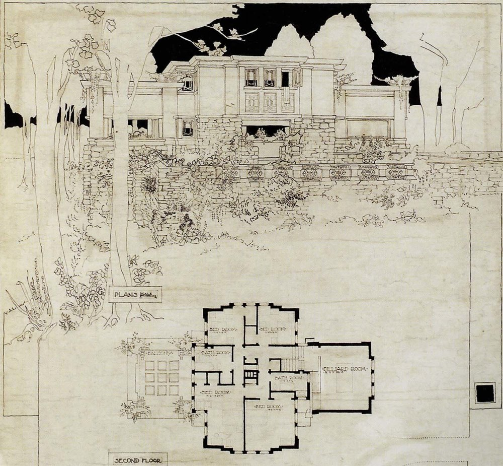 J. Blythe Dwelling, Mason City IA,  W.B. Griffin Architect, 1913