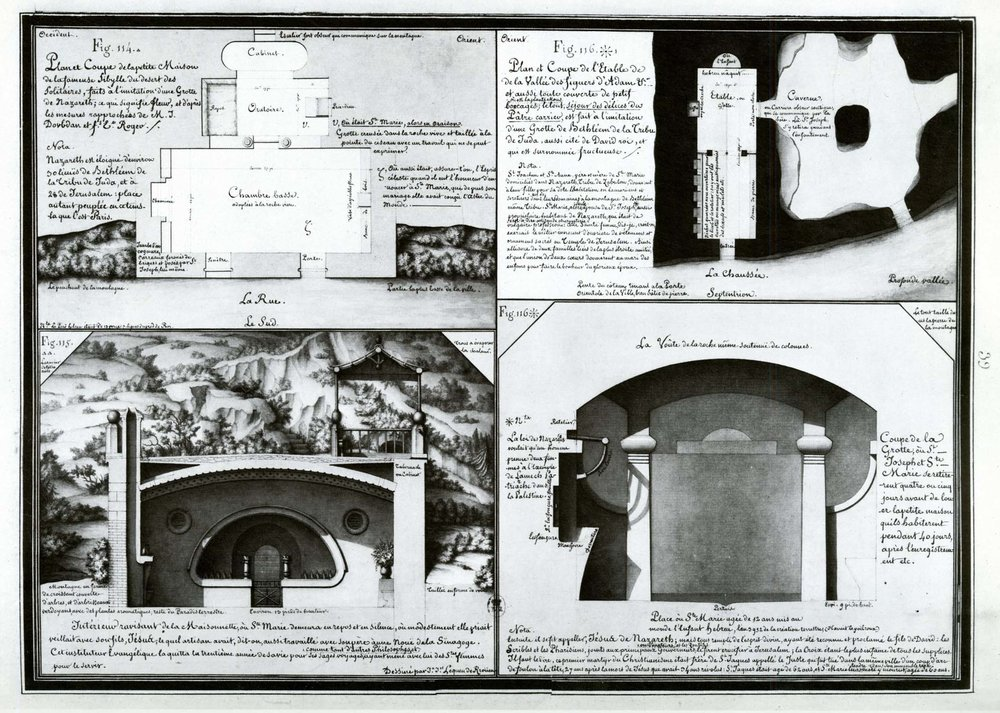 (114) The little house of the famous Sibyl of the desert of anchorites; (115) the delightful interior of the modest dwelling in which Mary lived in peace & quiet with her son Jesus…