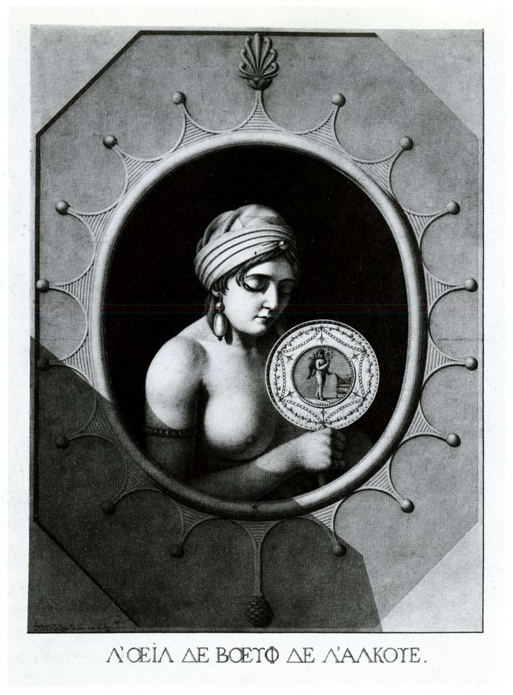 The oeil-de-boeuf of the alcove  (1797)