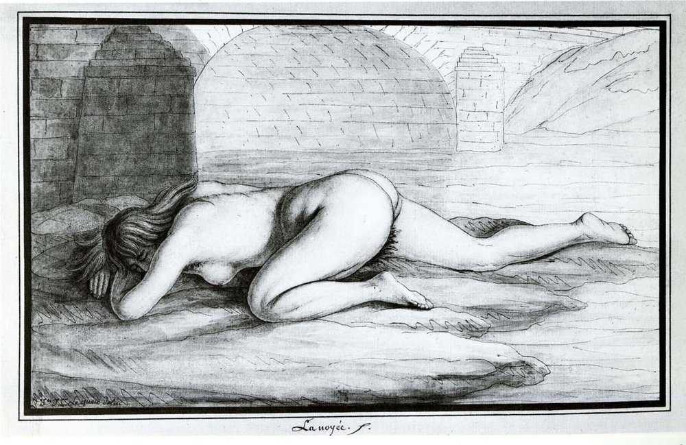 Drowned woman