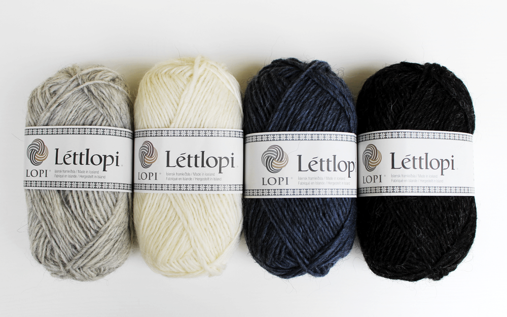 All the Léttlopi colors!!